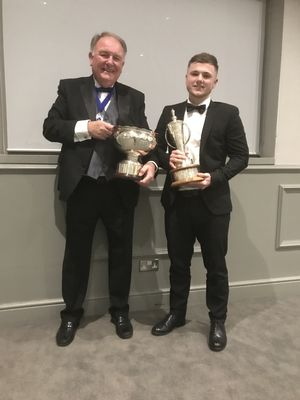 Tom Broxup Cookridge Hall Amateur Champions & Golfer of the Year